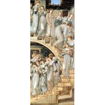 - Cuadro -The Golden Stairs- - Burne-Jones, Edward