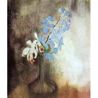 - Cuadro -Orquideas- - Redon, Odilon