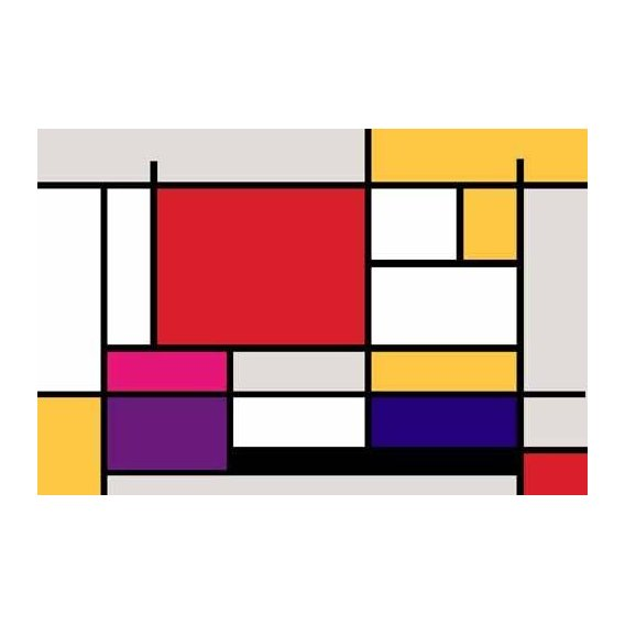 cuadros abstractos - Cuadro -Abstractos MM_MONDRIAN (I)-