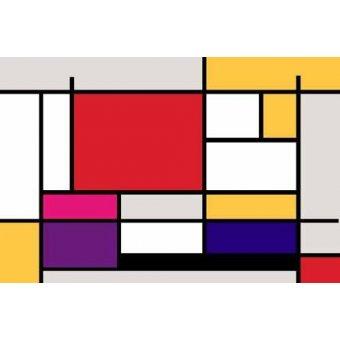 - Cuadro -Abstractos MM_MONDRIAN (I)- - Vicente, E. Ricardo