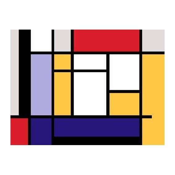 cuadros abstractos - Cuadro -Abstractos MM_MONDRIAN (II)-