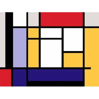 - Cuadro -Abstractos MM_MONDRIAN (II)- - Vicente, E. Ricardo