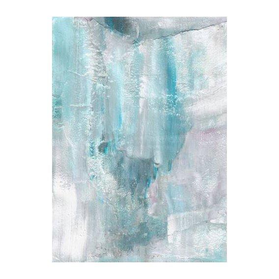 cuadros abstractos - Cuadro -Abstracto Pared Helada (IV)-