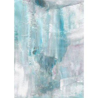 Pasillo - Cuadro -Abstracto Pared Helada (IV)- - Molsan, E.