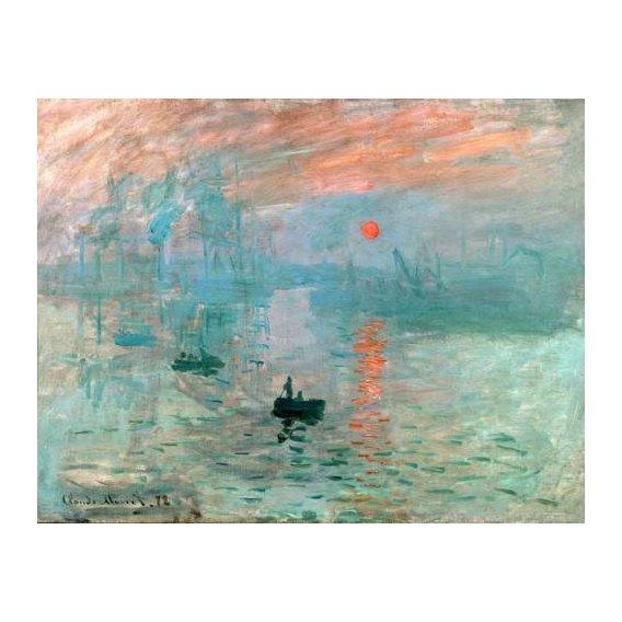 cuadros de marinas - Cuadro -Impression, soleil levant-