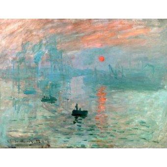 - Cuadro -Impression, soleil levant- - Monet, Claude