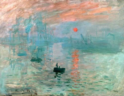 cuadros-de-marinas - Cuadro -Impression, soleil levant- - Monet, Claude