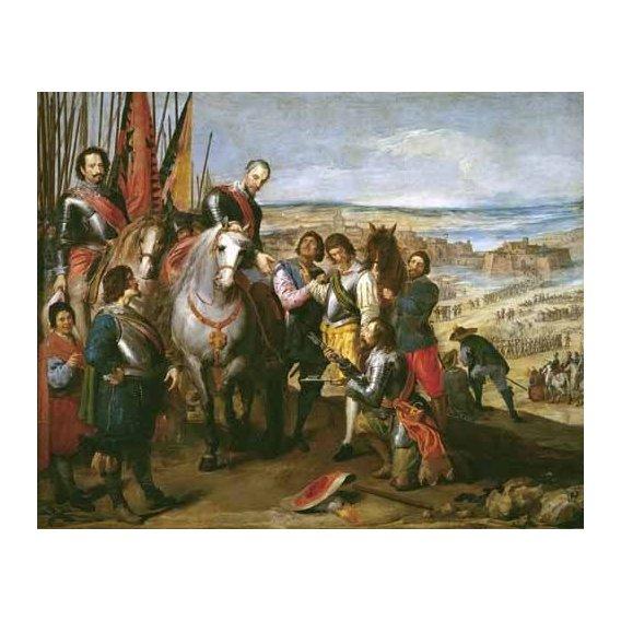 cuadros de retrato - Cuadro -La rendicion de Juliers-