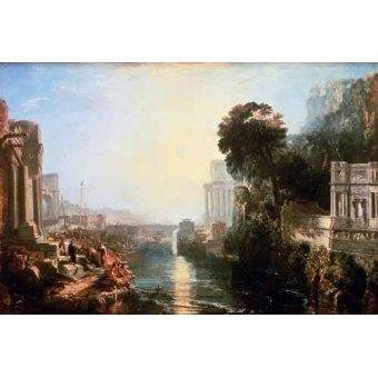 - Cuadro -The Rise Of The Carthaginian Empire, 1815- - Turner, Joseph M. William