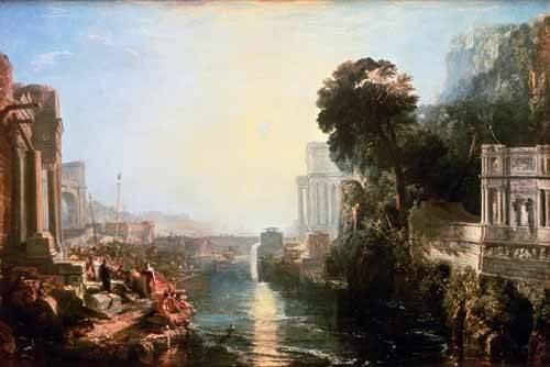 cuadros-de-paisajes - Cuadro -The Rise Of The Carthaginian Empire, 1815- - Turner, Joseph M. William