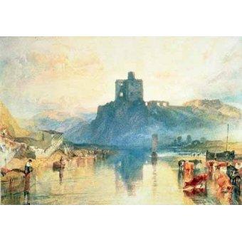 - Cuadro -Norham Castle, 1824- - Turner, Joseph M. William