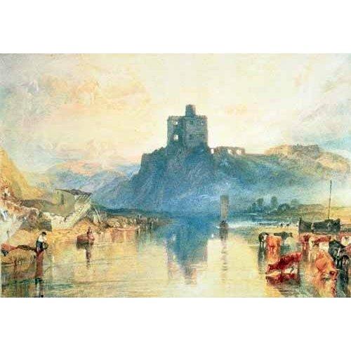 cuadros de paisajes - Cuadro -Norham Castle, 1824-