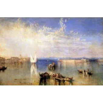 cuadros de marinas - Cuadro -Campo Santo, Venecia- - Turner, Joseph M. William