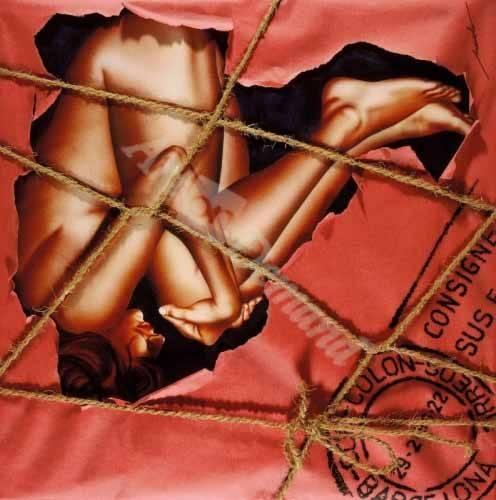 cuadros-de-desnudos - Cuadro -Mujer Paquete- - Miranda, Nieves