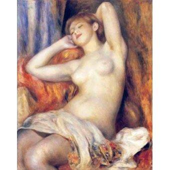 - Cuadro -The Sleeper- - Renoir, Pierre Auguste