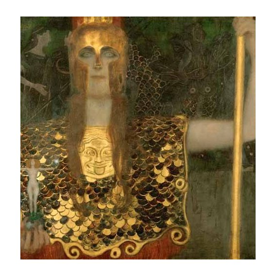 cuadros de retrato - Cuadro -Palas Atenea-