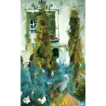 Cuadro -Jardin de la casa del artista (IX)- - Sorolla, Joaquin