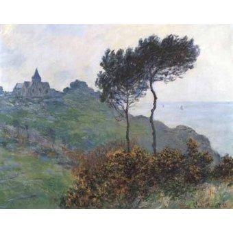 - Cuadro -Paisaje en Varengeville- - Monet, Claude