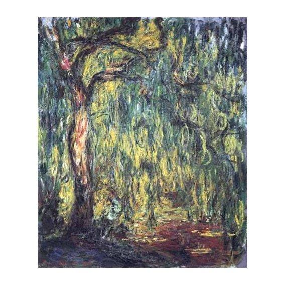 cuadros de paisajes - Cuadro -Paisaje, Trauerweide-