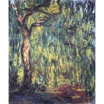 Cuadro -Paisaje, Trauerweide- - Monet, Claude
