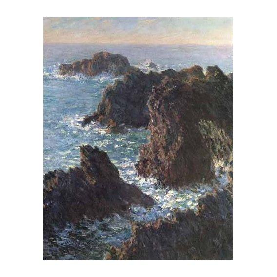 cuadros de marinas - Cuadro -Cliffs at Belle-Île-