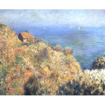 cuadros de marinas - Cuadro -Cliffs at Varengeville (II).- - Monet, Claude