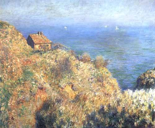 cuadros-de-marinas - Cuadro -Cliffs at Varengeville (II).- - Monet, Claude