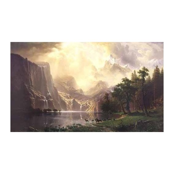 cuadros de paisajes - Cuadro -Sierra-Nevada-