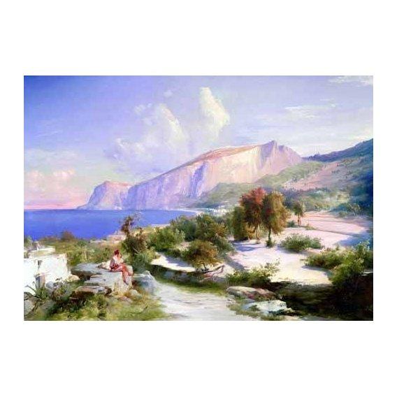 cuadros de paisajes - Cuadro -Marina grande, Capri-