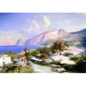cuadros de marinas - Cuadro -Marina grande, Capri- - Blechen, Karl