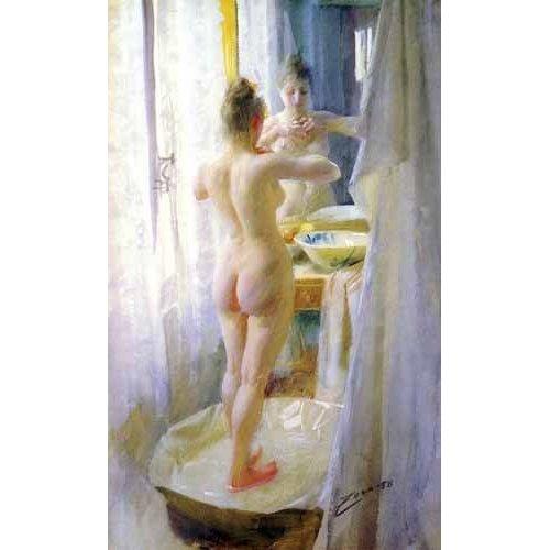 cuadros decorativos - Cuadro -Mujer en la tina-