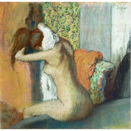 Cuadro -Mujer secandose el cuello, 1898-