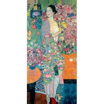 cuadros de retrato - Cuadro -The Dancer, ca. 1916–18- - Klimt, Gustav