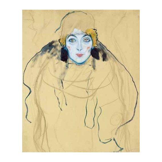 cuadros de retrato - Cuadro -Head of a Woman-