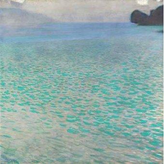 - Cuadro -Attersee, 1901- - Klimt, Gustav