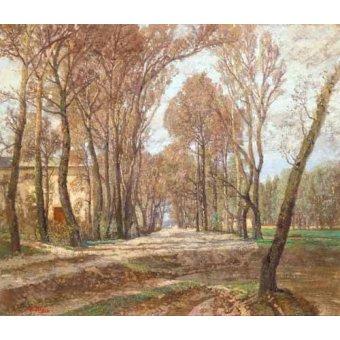 - Cuadro -Prater 1907- - Blau-Lang, Tina