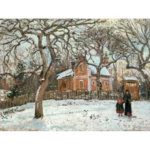 cuadros de paisajes - Cuadro -Chateigniers a Louveciennes, vers 1872-