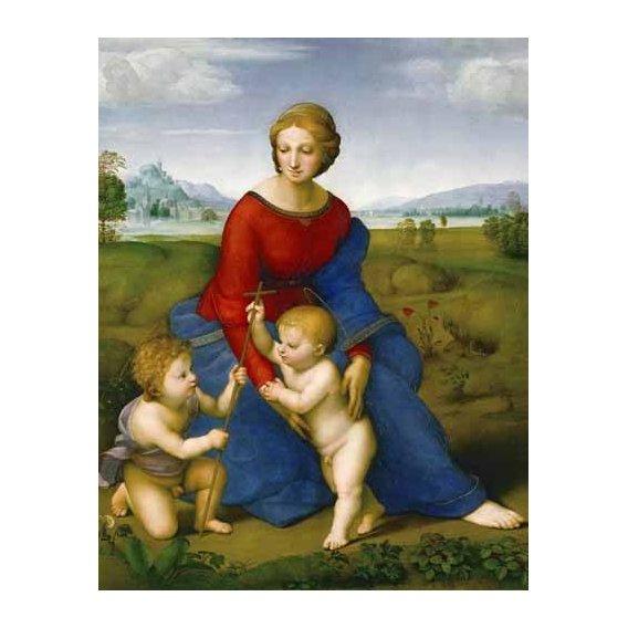 cuadros religiosos - Cuadro -Virgen del prado-