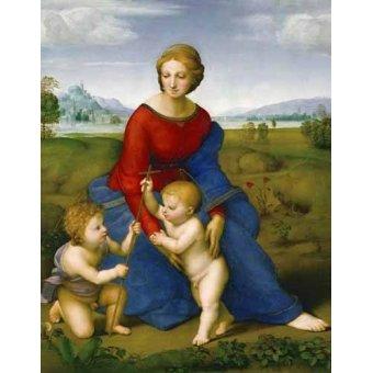 - Cuadro -Virgen del prado- - Rafael, Sanzio da Urbino Raffael