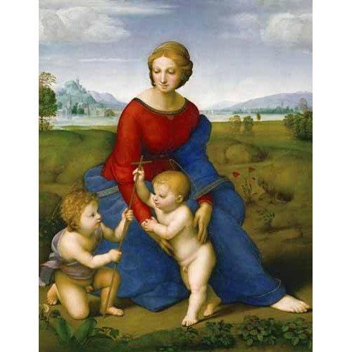 Cuadro -Virgen del prado-