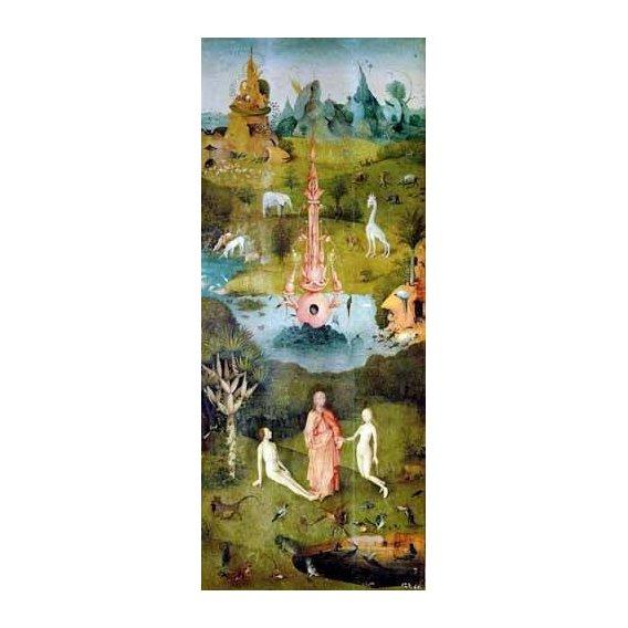 cuadros de paisajes - Cuadro -El Jardin De Las Delicias (Detalle Panel izquierdo)-