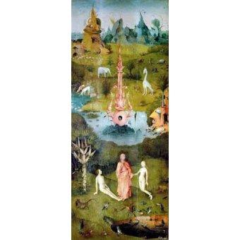 - Cuadro -El Jardin De Las Delicias (Detalle Panel izquierdo)- - Bosco, El (Hieronymus Bosch)