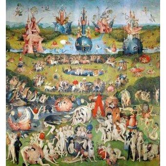 - Cuadro -El Jardin De Las Delicias (Detalle Panel central)- - Bosco, El (Hieronymus Bosch)