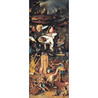 - Cuadro -El Jardin De Las Delicias (Detalle panel derecho)- - Bosco, El (Hieronymus Bosch)