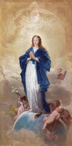 cuadros-religiosos - Cuadro -La Inmaculada Concepción, 1784- - Goya y Lucientes, Francisco de