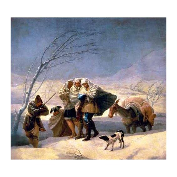 cuadros de retrato - Cuadro -El invierno, 1786-87-