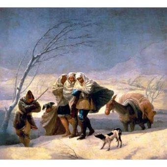 - Cuadro -El invierno, 1786-87- - Goya y Lucientes, Francisco de