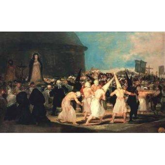- Cuadro -Procesion de flagelantes, 1815-19- - Goya y Lucientes, Francisco de