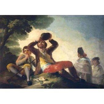 - Cuadro -El bebedor, 1777- - Goya y Lucientes, Francisco de