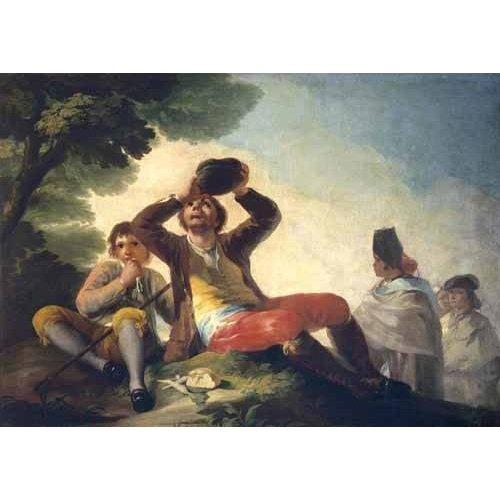 Cuadro -El bebedor, 1777-